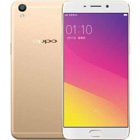OPPO R9 4GB+64GB内存版 金色 全网通4G手机 双卡双待